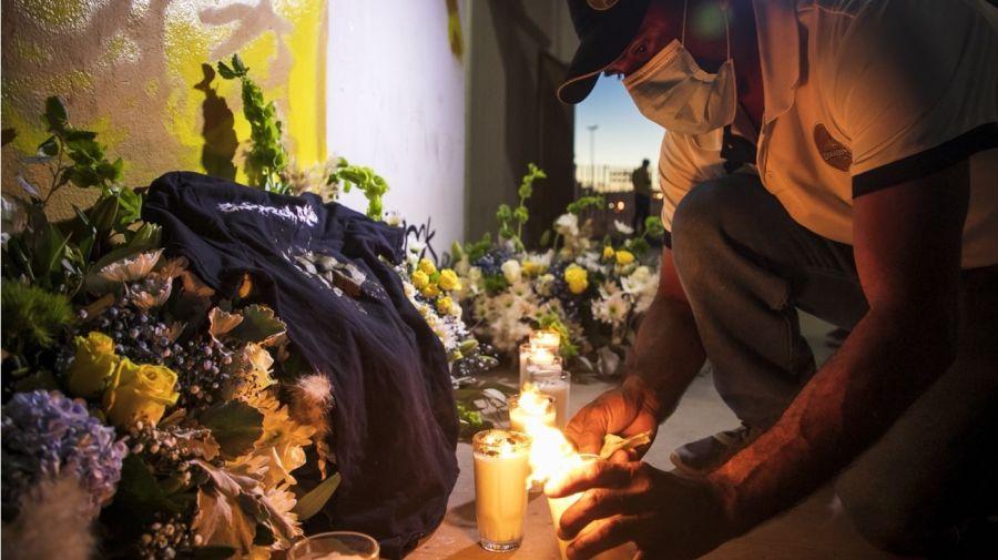 En Sinaloa, México, la despedida a Maradona congrega a miles de personas