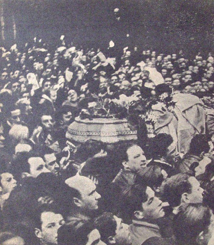 Funeral Hipólito Yrigoyen