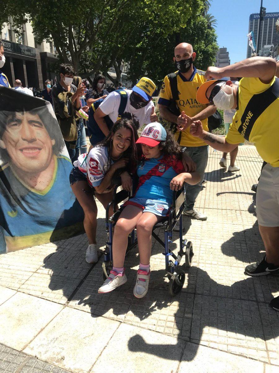La despedida de Diego Armando Maradona