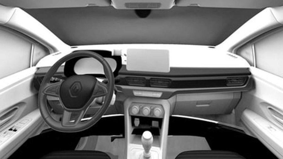Renault Logan patentes