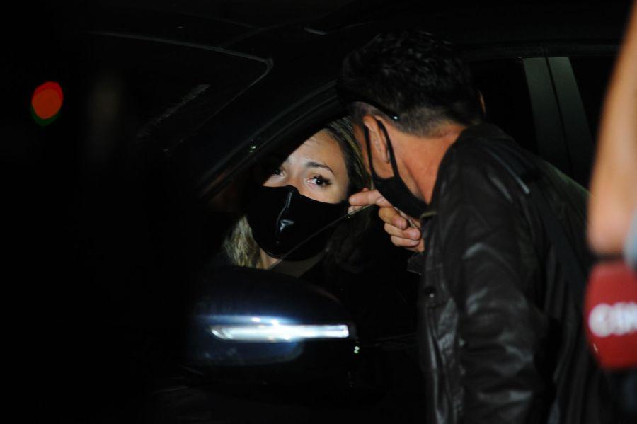 Rocío Oliva y el desgarrador llanto porque no la dejaron entrar al velorio íntimo de Diego Maradona