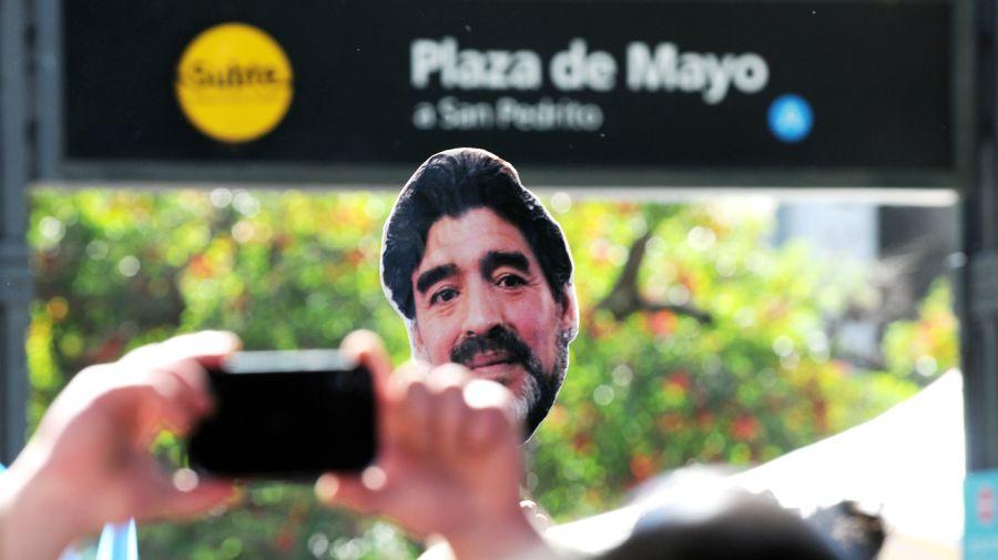 Cobertura histórica en Perfil tras la muerte de Maradona. Cronología del adiós.