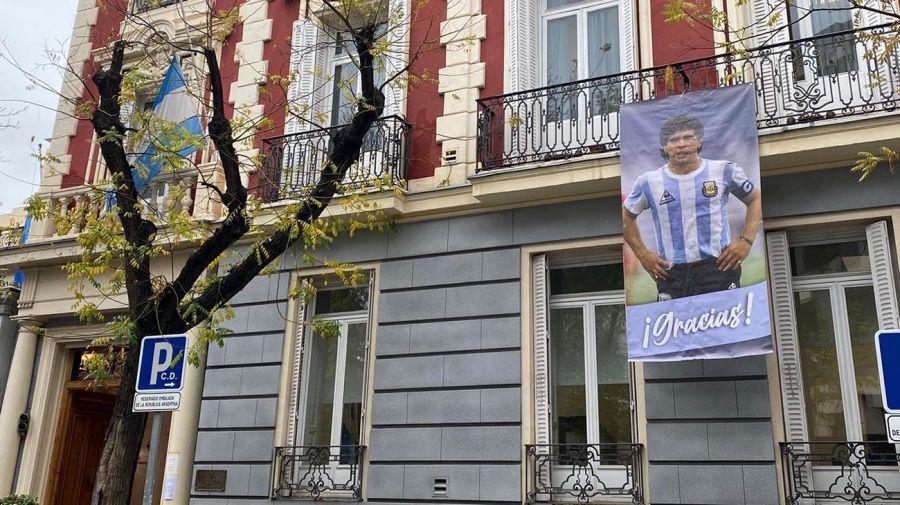 Embajad argentina en Madrid, España 20201127