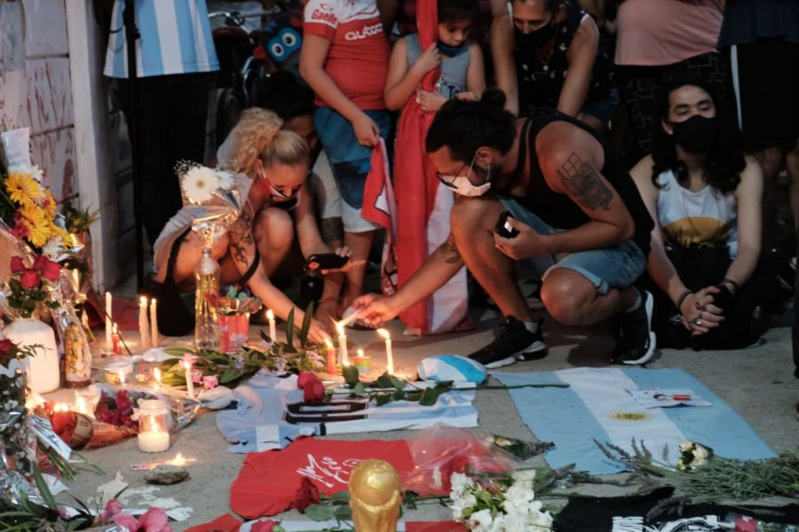 altar Maradona Argentinos