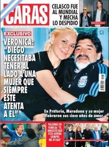 Diego Maradona: La diez históricas tapas de D10S en CARAS