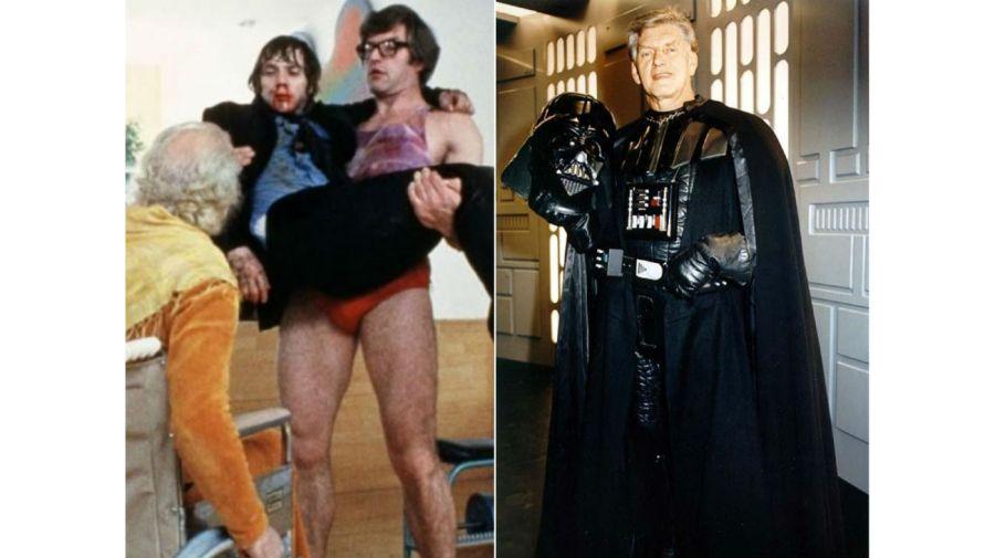 David Prowse en La Naranja Mecanica y Star Wars