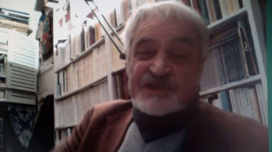 Serge Latouche, en la entrevista con Jorge Fontevecchia.