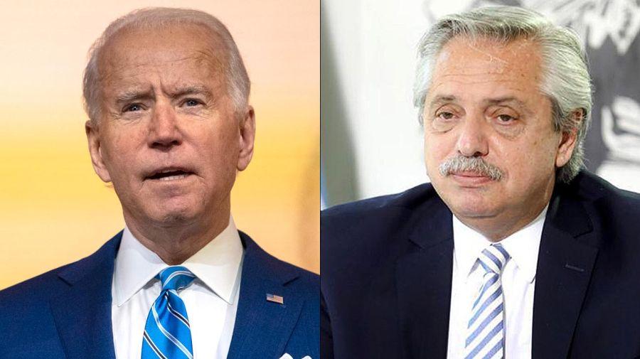Joe Biden Alberto Fernández 20201130