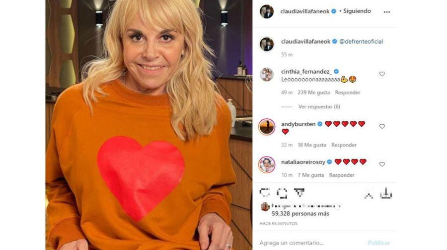 Claudia Villafañe tras su regreso a MasterChef