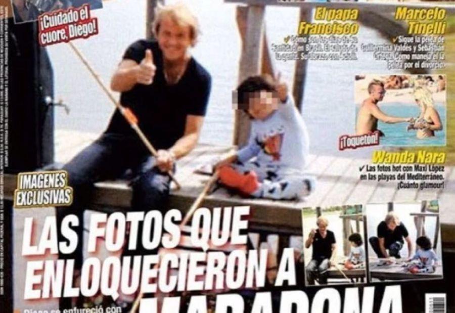 Por qué Maradona no apoyaba la relación de Claudia con Jorge Taiana
