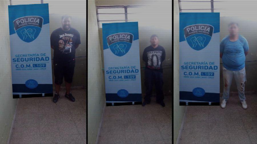 2020 12 02 Persecucion San Miguel Delincuentes Detenidos