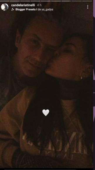 Cande Tinelli compartió una foto con Coti Sorokin que después borró