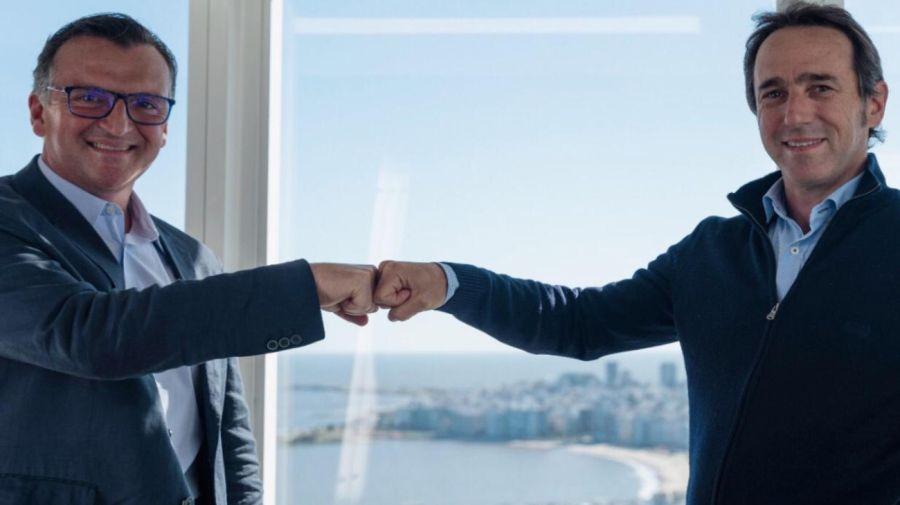 CEOs de Mercado Libre y Globant