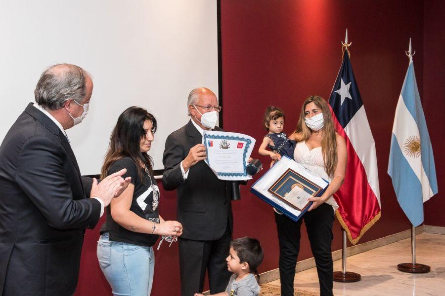 Doctor Abel Albino premio Chile 2