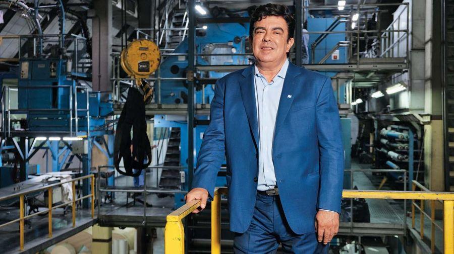 Fernando Espinoza, en la entrevista de Jorge Fontevecchia.