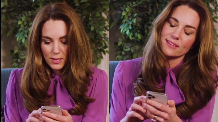 Kate Middleton consagra al púrpura como el color del 2020
