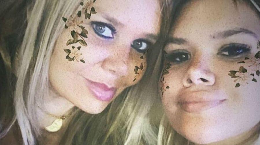 Jackie Pato y Morena Rial