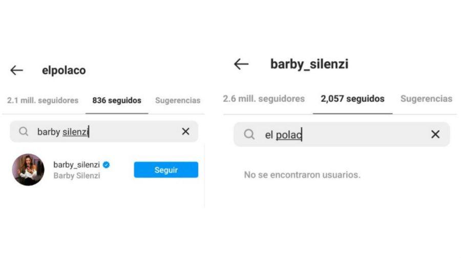 El Polaco y Barby Silenzi en instagram