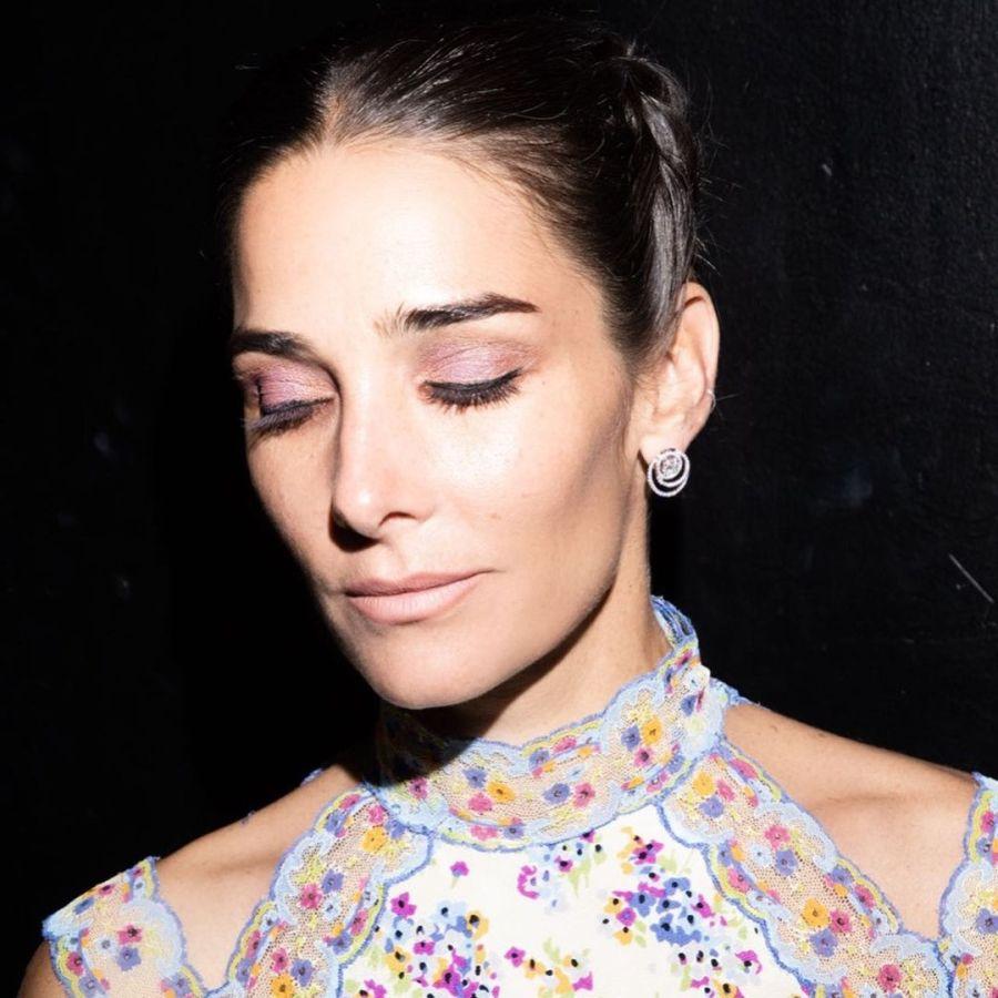 Mirá el look primaveral de Juana Viale para