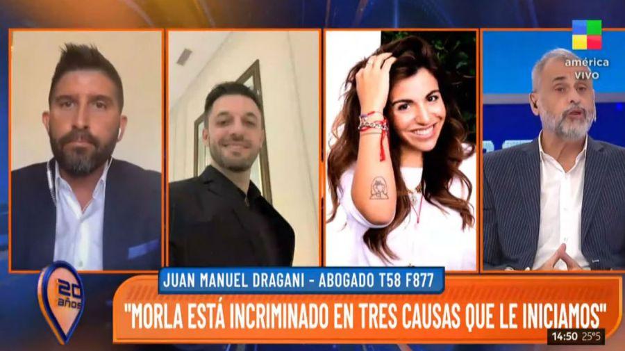 Juan Manuel Dragani contra Matias Morla