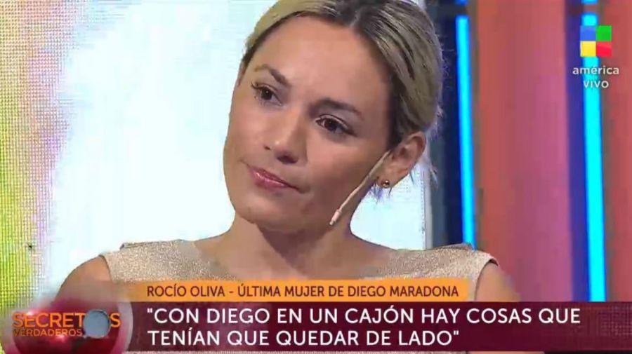 Rocio Oliva en Secretos Verdaderos
