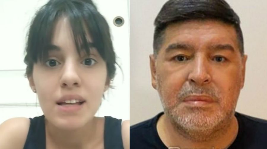 Magali Gil - Diego Maradona