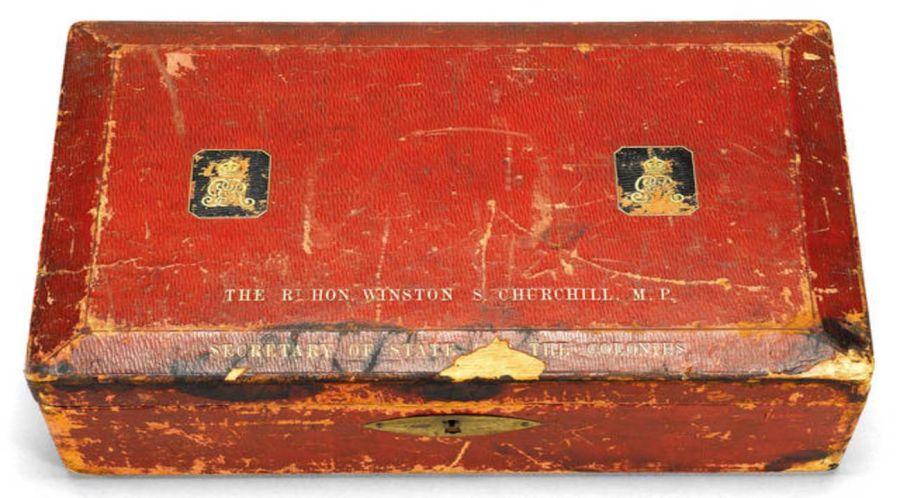 Caja de despacho de Churchill