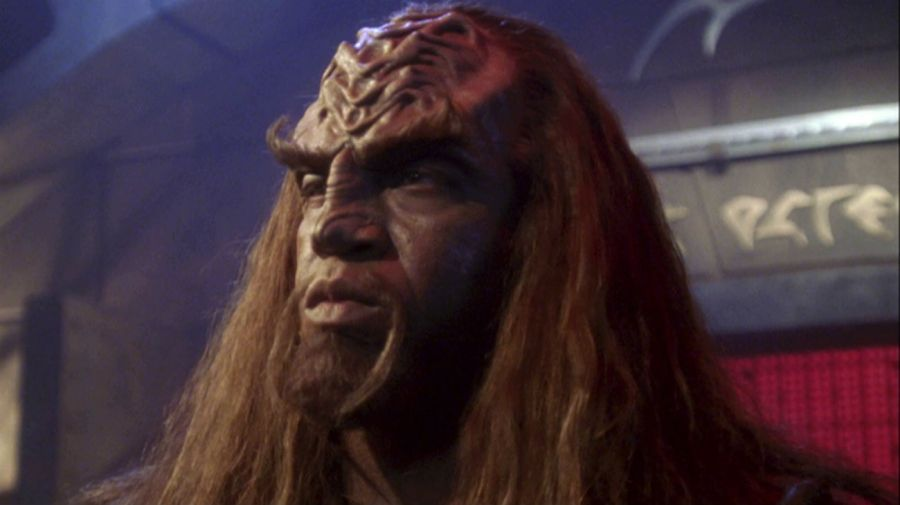 Tiny Lister como Klaang en Star Trek