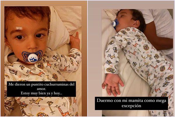 Luli Fernández y el mal momento que le tocó vivir con su hijo Indalecio