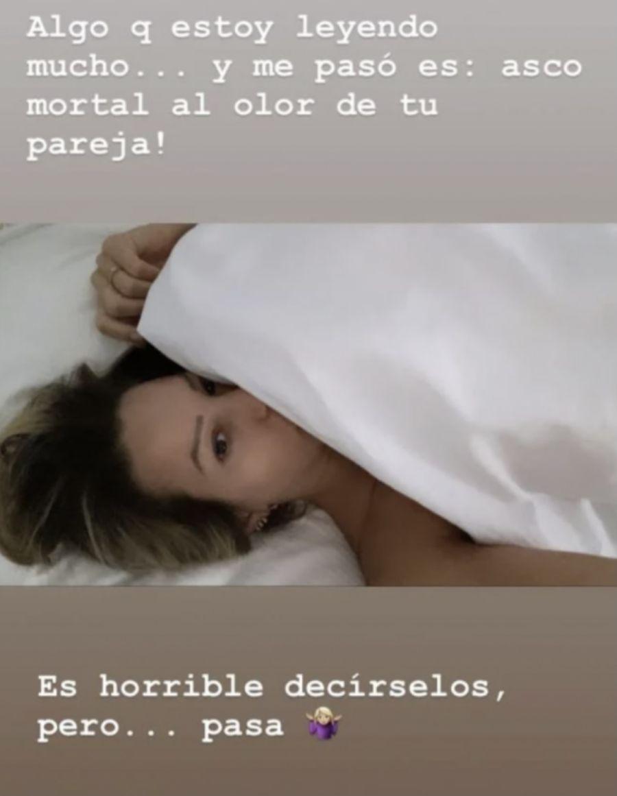 Noelia Marzol reveló qué es lo que más asco le dio al comienzo de su embarazo