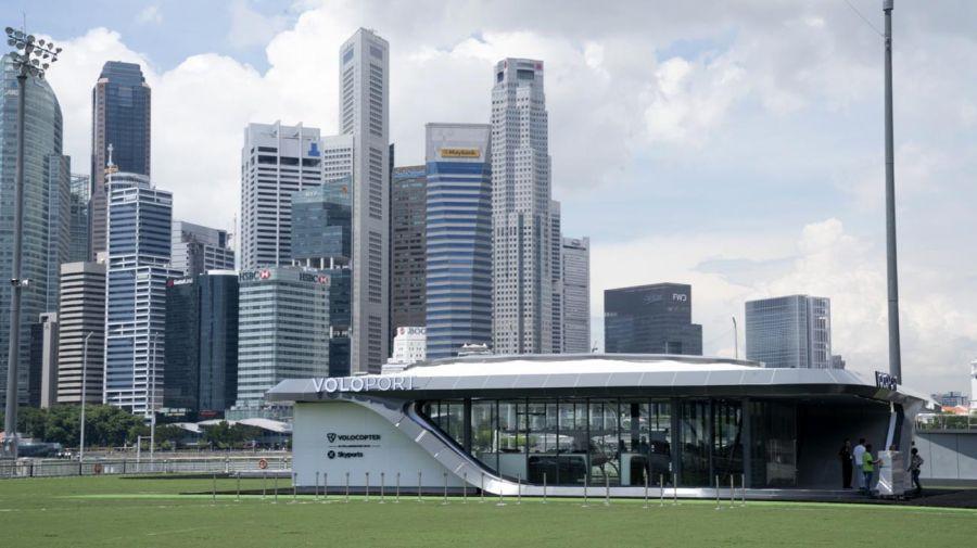 Volocopter GmbH en Singapur 20201210
