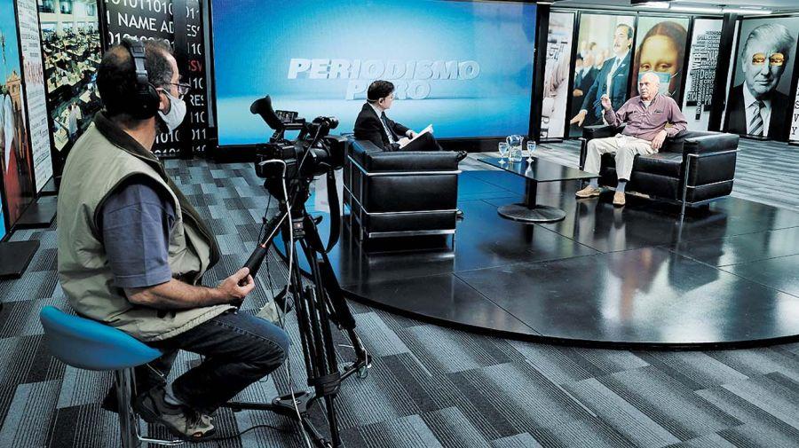 Carlos Rodríguez, en la entrevista con Jorge Fontevecchia.