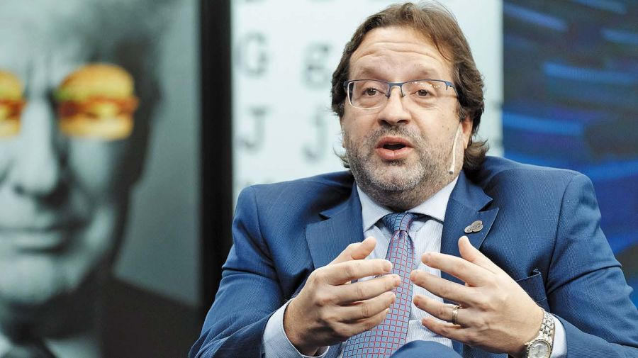 Marco Lavagna, en la entrevista con Jorge Fontevecchia.
