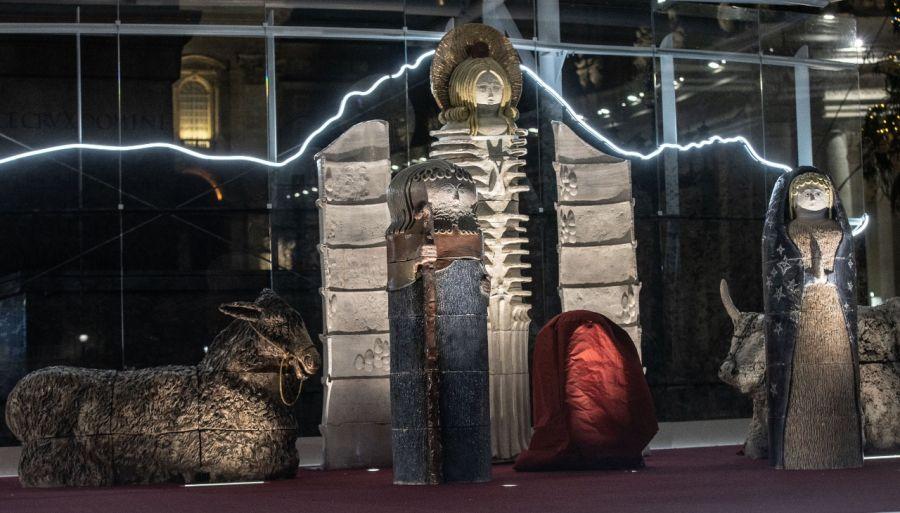 Pesebre en el Vaticano.