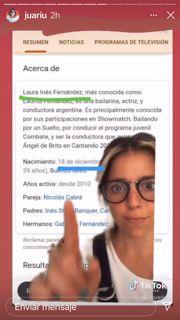 Revelan el día que Laurita Fernández anunciaría su embarazo