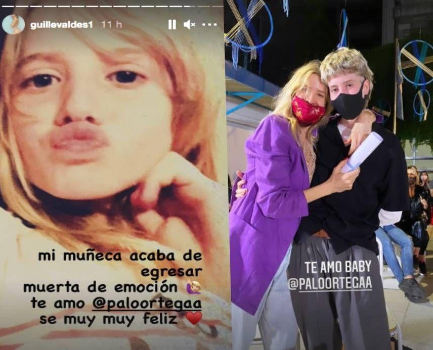 Guille Valdés compartió imágenes de la fiesta de egresados de su hija