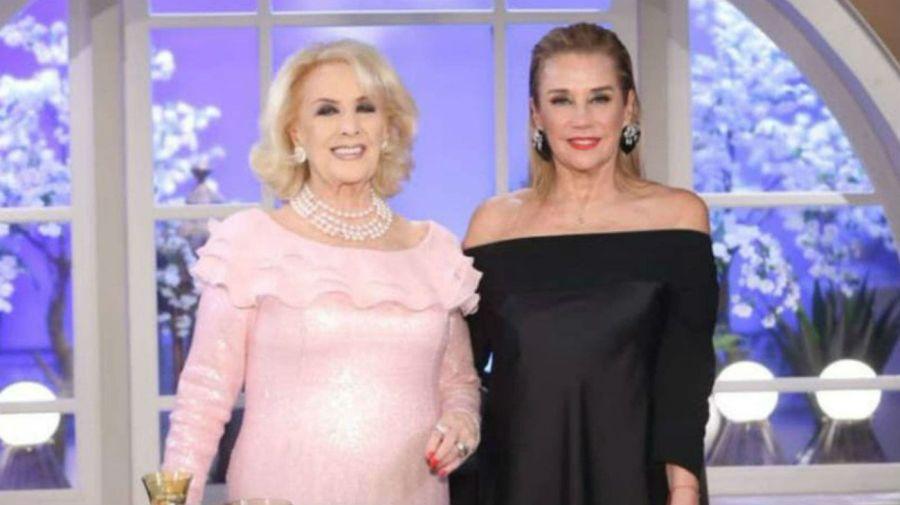 Mirtha Legrand y Marcela Tinayre