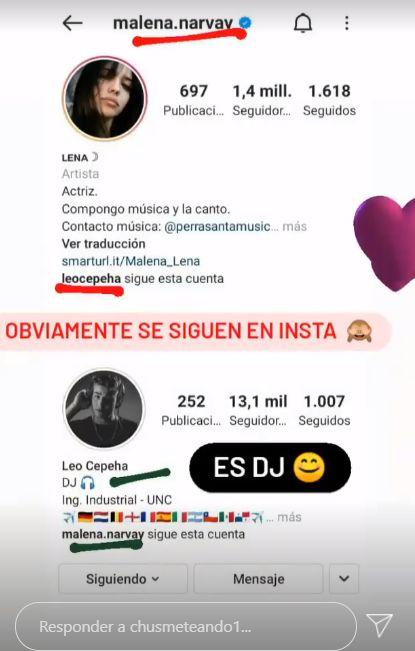 Malena Narvay con nuevo novio tras su ruptura con Julián Serrano