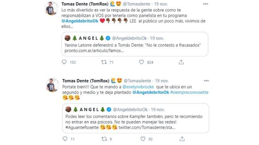 Tomas Dente vs Ángel de Brito