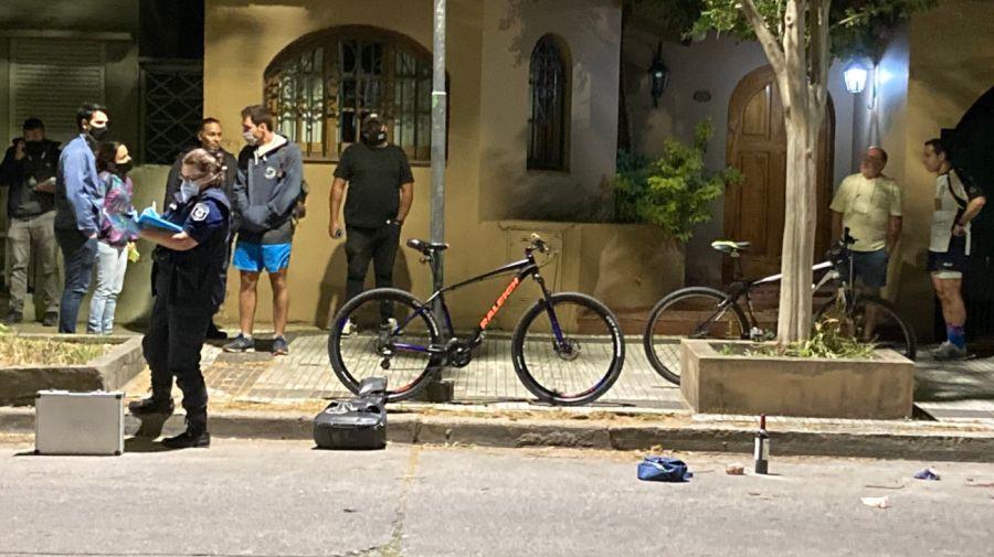 2020 12 16 Baleado La Plata Bicicleta