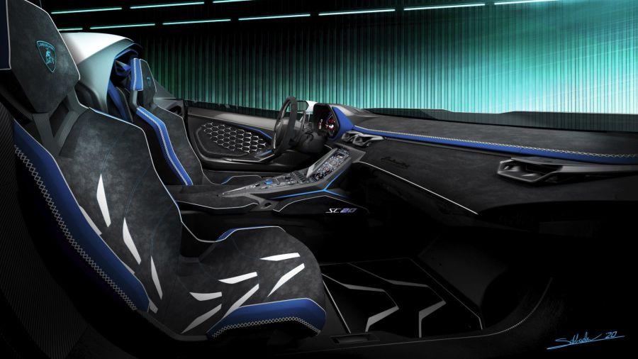 Lamborghini presentó el SC20, un ejemplar abierto de carreras único