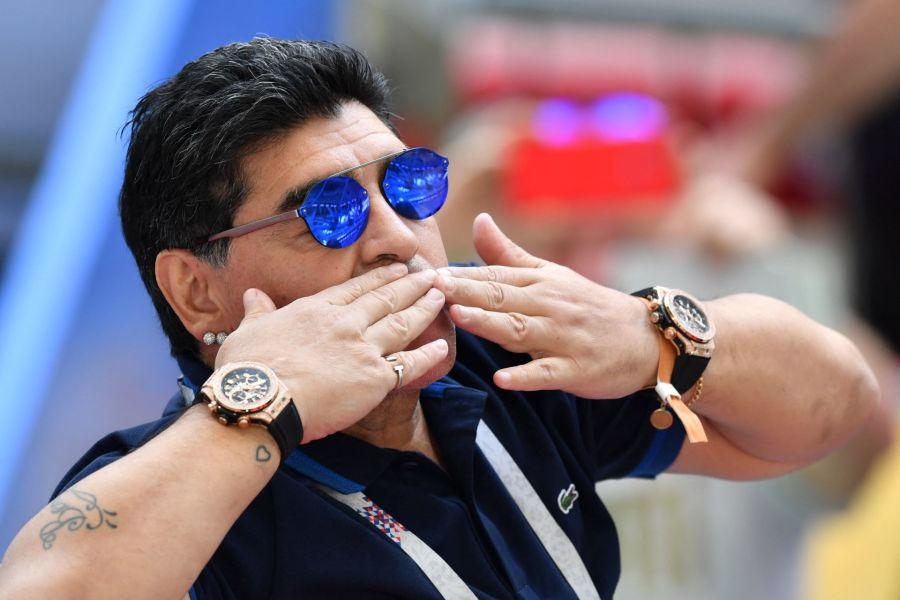 Las marcas Maradona van a ir a sus hermanas