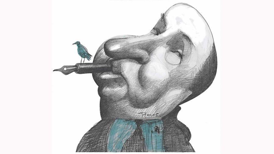 Alfred Hitchcock por Pablo Temes