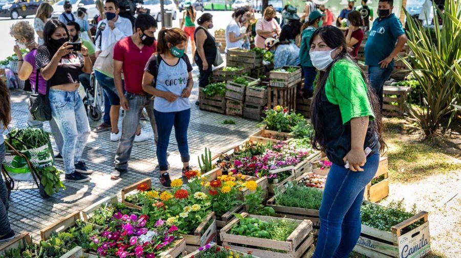 Feriazo de la UTT en Plaza Once y Plaza Constitución 20201218