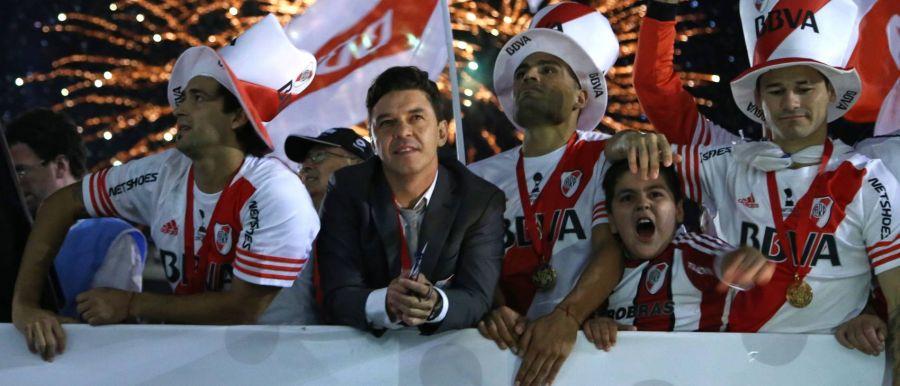 River campeón de la Sudamericana 2014 con Gallardo