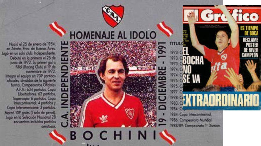 A 29 años del homenaje a Bochini