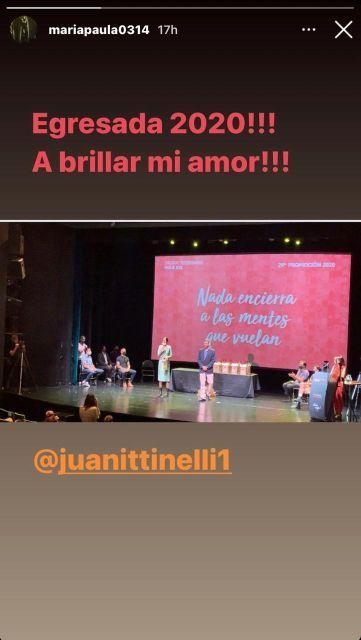 El egreso de Juanita Tinelli: Marcelo Tinelli y Paula Robles orgullosos