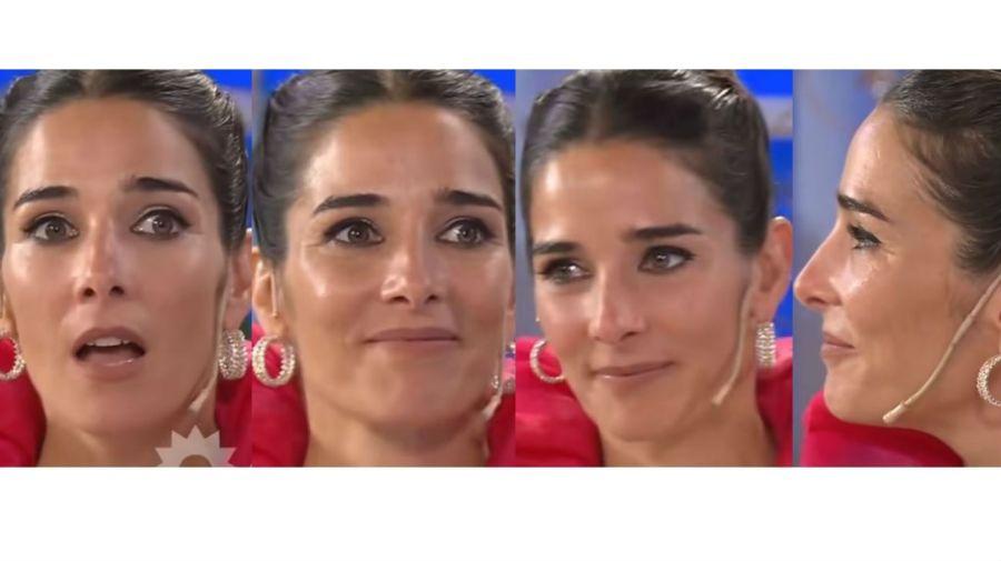 Juana Viale en shock