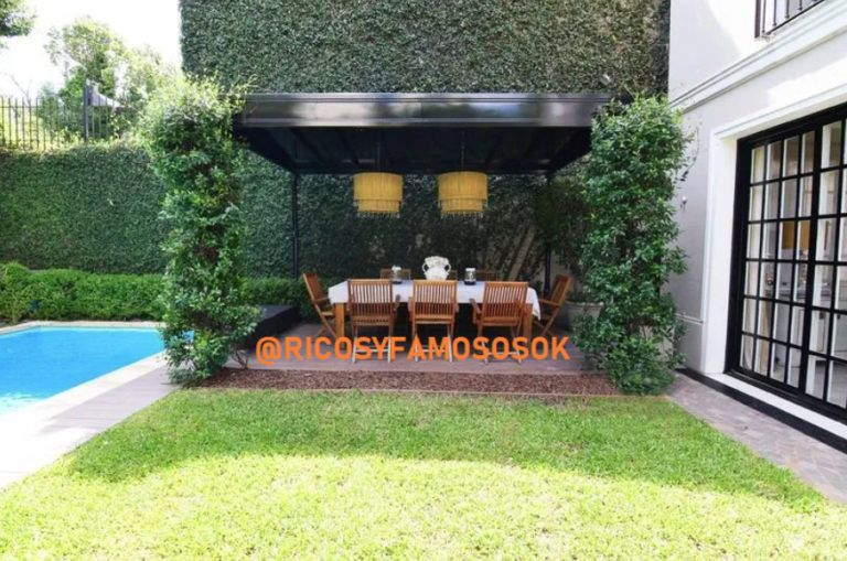 Jorge Rial mostró su jardín