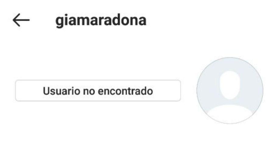 Gianinna Maradona Instagram